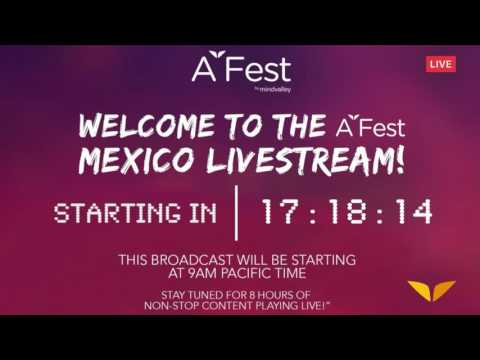 A-Fest Livecast: Live your Quest from Mexico 2016