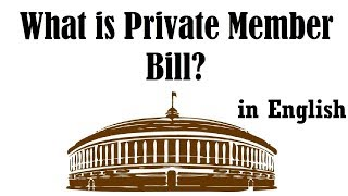 What is Private Member Bill in Indian Parliament? BJP MP Rakesh Sinha on Ram Temple, Indian Polity