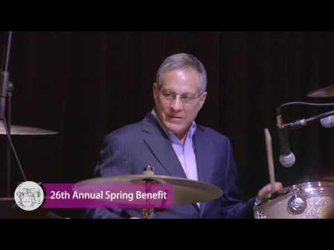 Max Weinberg and Jake Whitenight perform at Summit Speech School's Spring Benefit