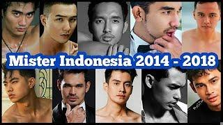 PEMENANG MISTER INDONESIA ( 2014 Sampai 2018 )