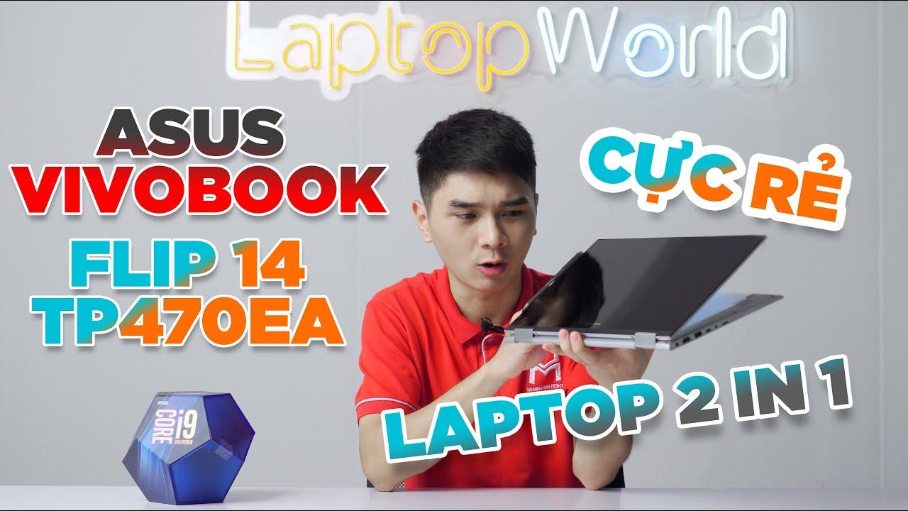 ASUS Vivobook Flip 14 TP470EA - Laptop 2 in 1 Giá \