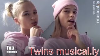 The Best Lisa And Lena Twins musical.ly Compilation 2016 | Topmusical.ly