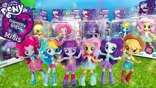 My little pony Equestria Girls мини чиби фигурки Minis Mini Figures Wave 1 первый взгляд