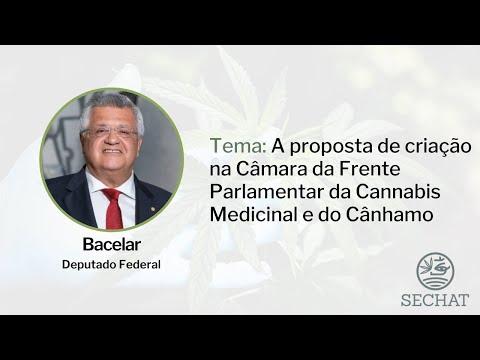 """""""A proposta de criação na Câmara da Frente Parlamentar da Cannabis Medicinal"""" - Com Deputado Bacelar"""