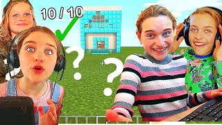 WHICH KID BUILDS THE BEST HOUSE in Minecraft Gaming w/ The Norris Nuts