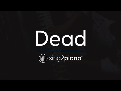 Dead [Piano Karaoke Instrumental] Madison Beer