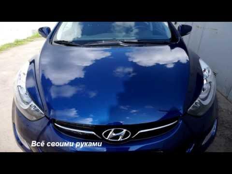 Как правильно наносить твердый воск на кузов автомобиля!/How to apply hard wax on the car body!