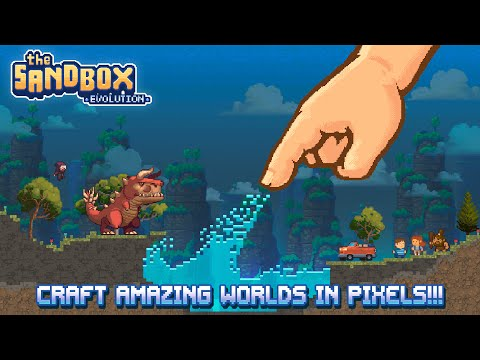 The Sandbox Evolution – Game Trailer iOS & Android