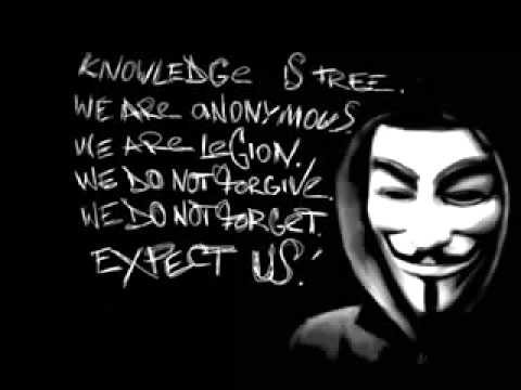Anonymous Rap Song   Hackers With Lyrics