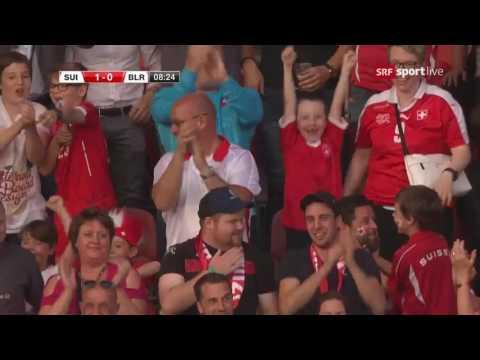 Switzerland-Belarus gol Shaqiri
