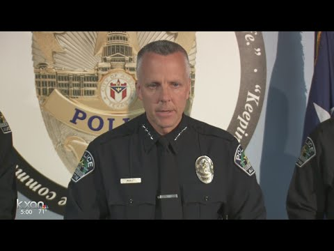 Chief Brian Manley talks about 3 APD officers indicted in use of force cases