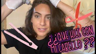 Me Pinte el Pelo sola #EnCasa YouTube Videos