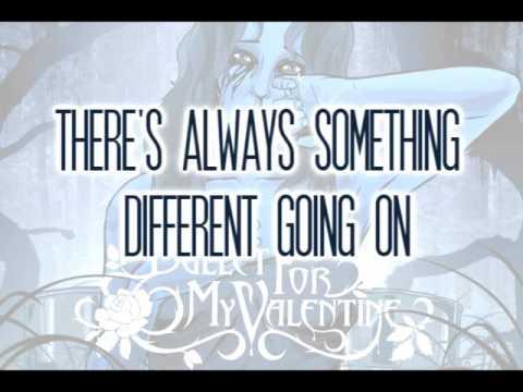 Bullet For My Valentine Tears Don T Fall Lyrics Youtube