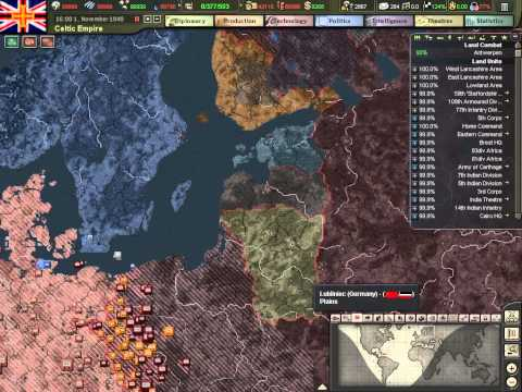Let's Play Hearts of Iron 3 - The Celtic Empire - Part 67