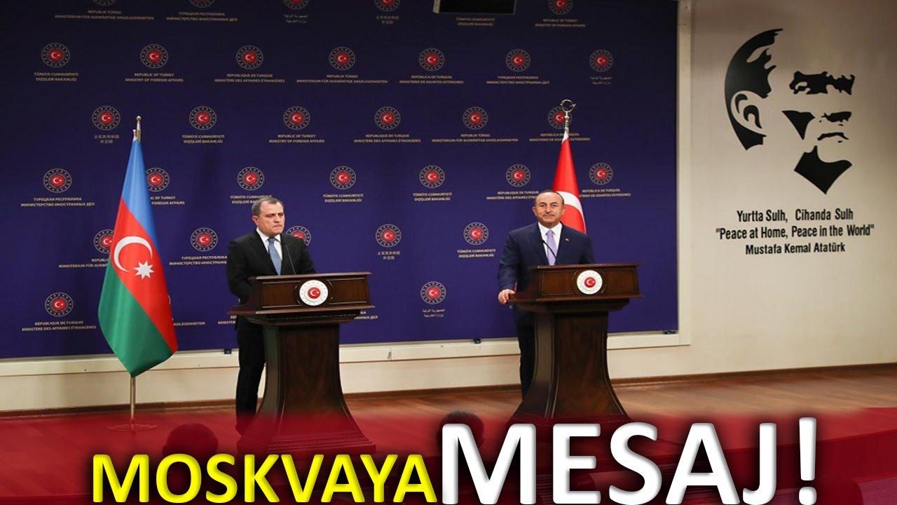 ANKARADA TÜRKİYƏ AZƏRBAYCAN DANIŞIQLARI - Moskvaya mesaj