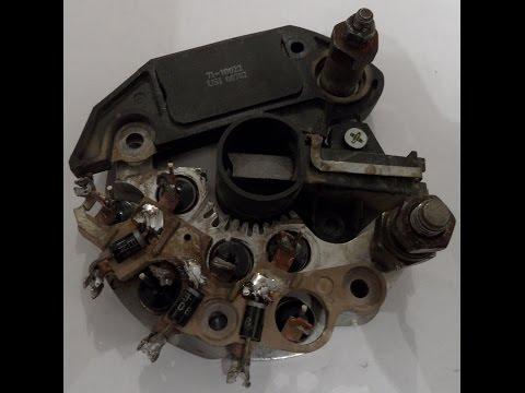 Проверка регулятора напряжения генератора (Voltage regulator for alternator)
