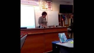 Взрыв на уроке химии:D