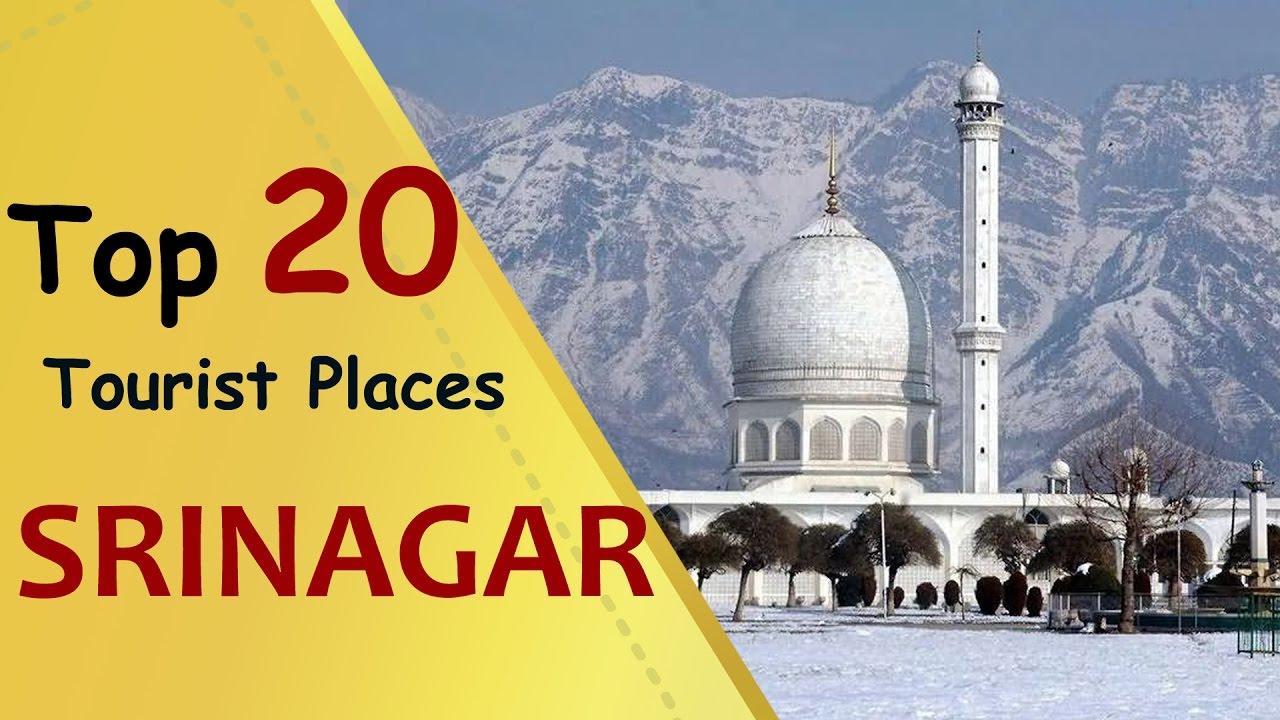 SRINAGAR Top 20 Tourist Places  Srinagar Tourism  YouTube