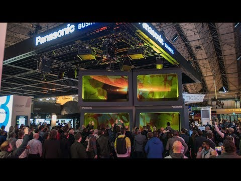 Live@ ISE 2018 - The Panasonic showstopper (full show | original sound )