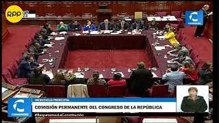 #DirectoEnDirecto Sesión de la Comisión Permanente del Congreso