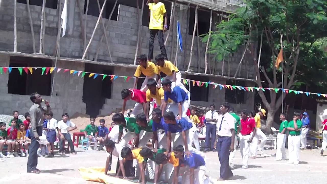 Pyramid Done By School Students