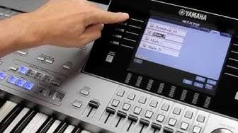 Import von REX Daten und Einsatz von Audio Loops in Styles mit dem Yamaha Expansion Manager