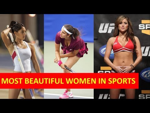 7 Most beautiful sports women in the world| Hot Sports Girls