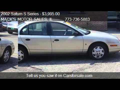 2002 saturn s series sl1 auto for sale in chicago il