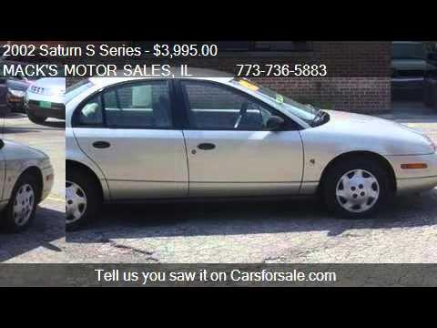 2002 saturn s series sl1 auto for sale in chicago il