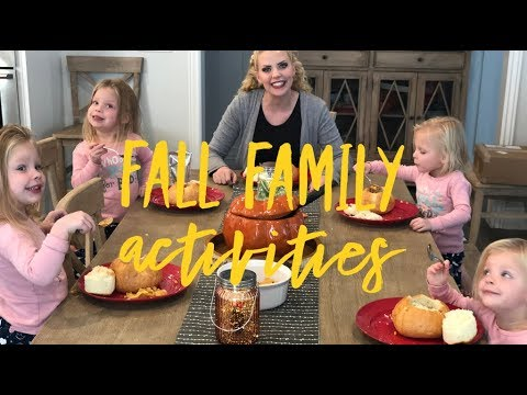 FALL FAMILY ACTIVITIES WITH CARAMEL APPLES AND TACO SOUP