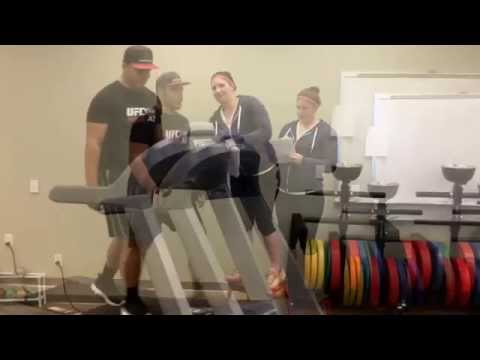 Bruce treadmill sub maximal protocol (mcc)