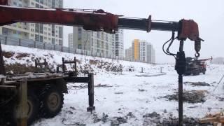Ямобур в аренду Зил 131 ACHI 706 4 в Екатеринбурге(Аренда ямобура в Екатеринбурге http://arenda-yamobur.ru/, 2014-03-22T12:07:35.000Z)