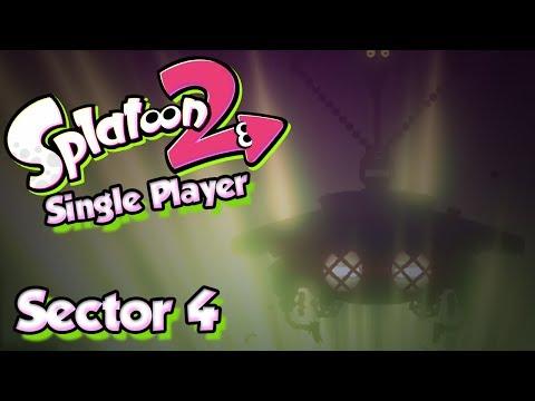 Splatoon 2 Story Mode #4 -  Sector 4 & The UFO?! (Single Player W/ DUDE)