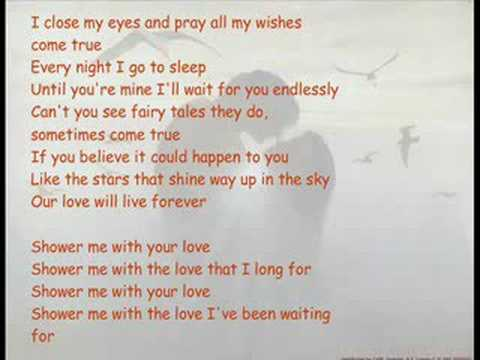 Shower Me With Your Love - Surface
