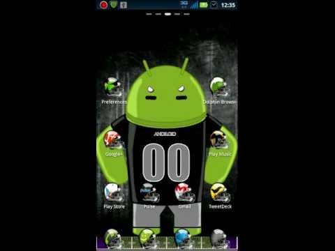 Football GO Launcher EX Theme