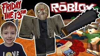 Скачать FRIDAY THE 13th ПЯТНИЦА 13 ДЖЕЙСОН ВУРХИЗ УЖЕ В РОБЛОКС Escape Camp ROBLOX Obby