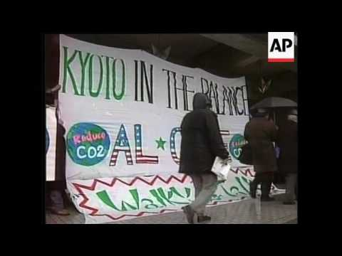 Japan: UN Climate Change Convention, Demos