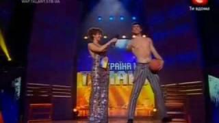 Украина мае талант-Сергей дубровский-3-й полуфинал