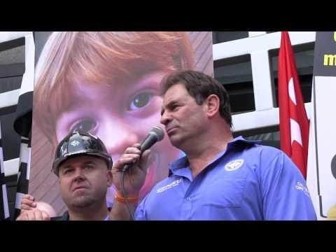 Grocon Safety Rally - John Setka Speech