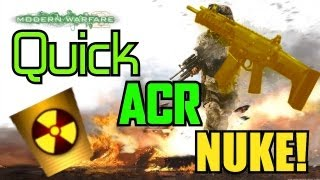 Modern Warfare 2: Fast ACR Nuke on Afghan in Under 2 Minutes! | What Should I Post?