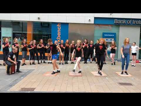 Fusion Dance Fest - Street Performance in Limerick