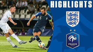 England 1-2 France | U21 | Goals & Highlights HD