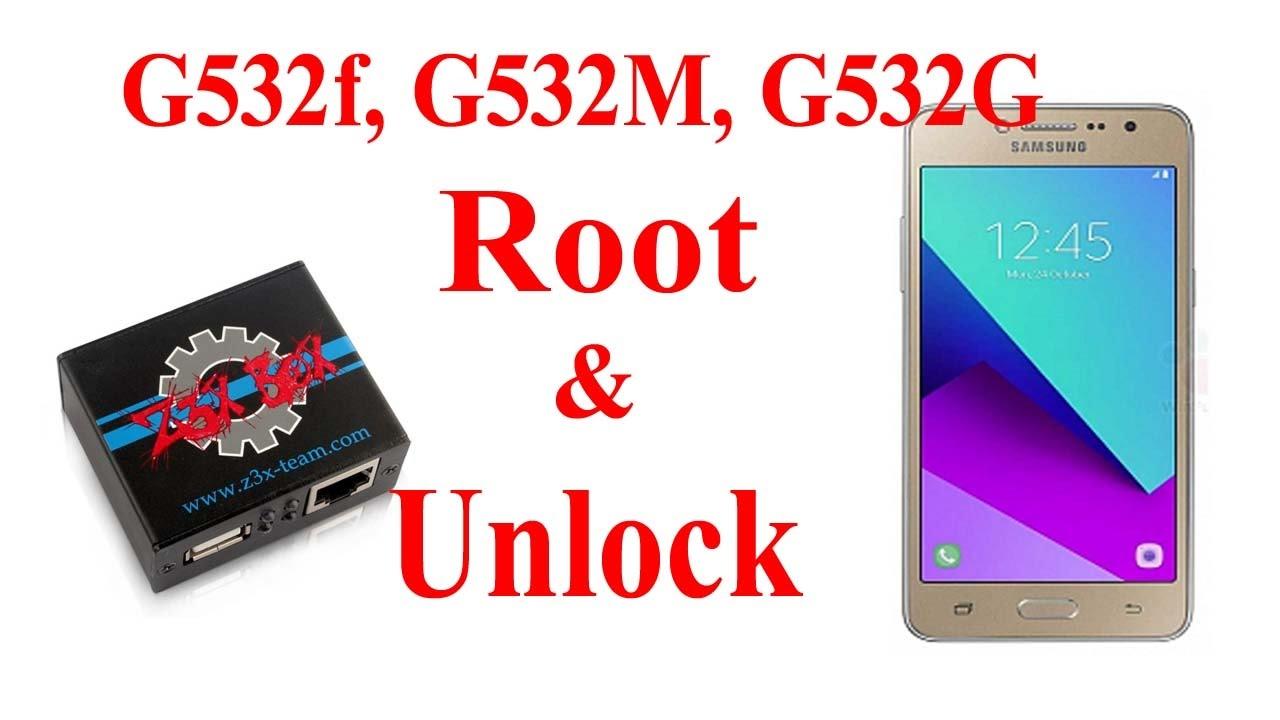 Samsung G532f,G532m,G532g Root & Unlock    New Mathod    2017