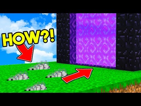 SENDING SILVERFISH TO THE NETHER IN MINECRAFT BEDWARS!