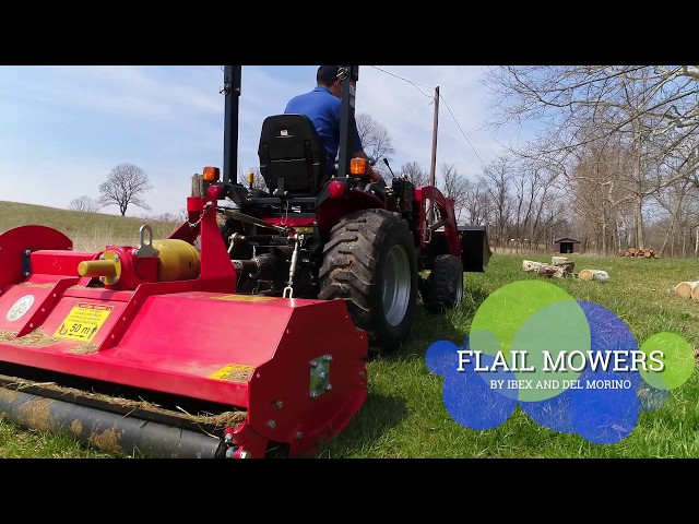 Flail Mowers by Ibex and Del Morino
