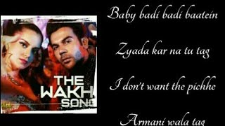 THE WAKHRA SONG LYRICS – Navv inder |Lisa Mishra |Raja Kumari |Kangana Ranaut |Rajkumar Rao