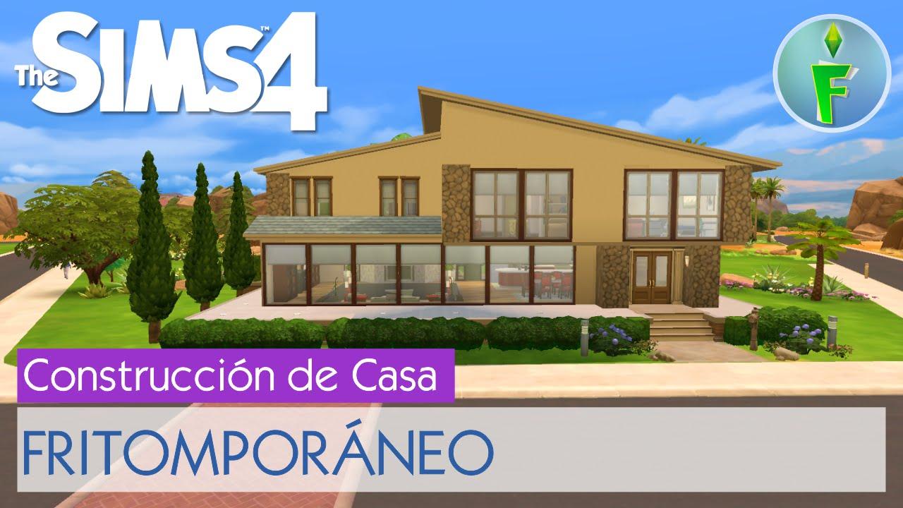Los sims 4 construcci n de casa fritompor neo por Casas modernas sims 4 paso a paso