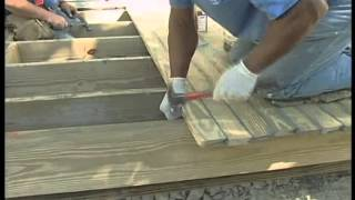 Raised Wood Floor Home: Porches And Decks