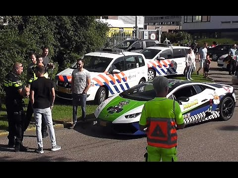 Supercars, Classics, Hotrods, Burnouts, Police @ Cars & Coffee 10.09.2016 Amsterdam