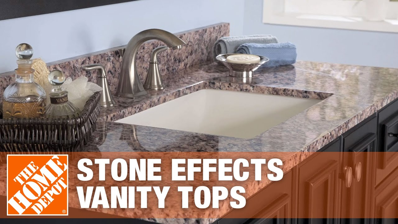 stone effects vanity tops the home depot